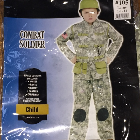 combat soldier halloween costume